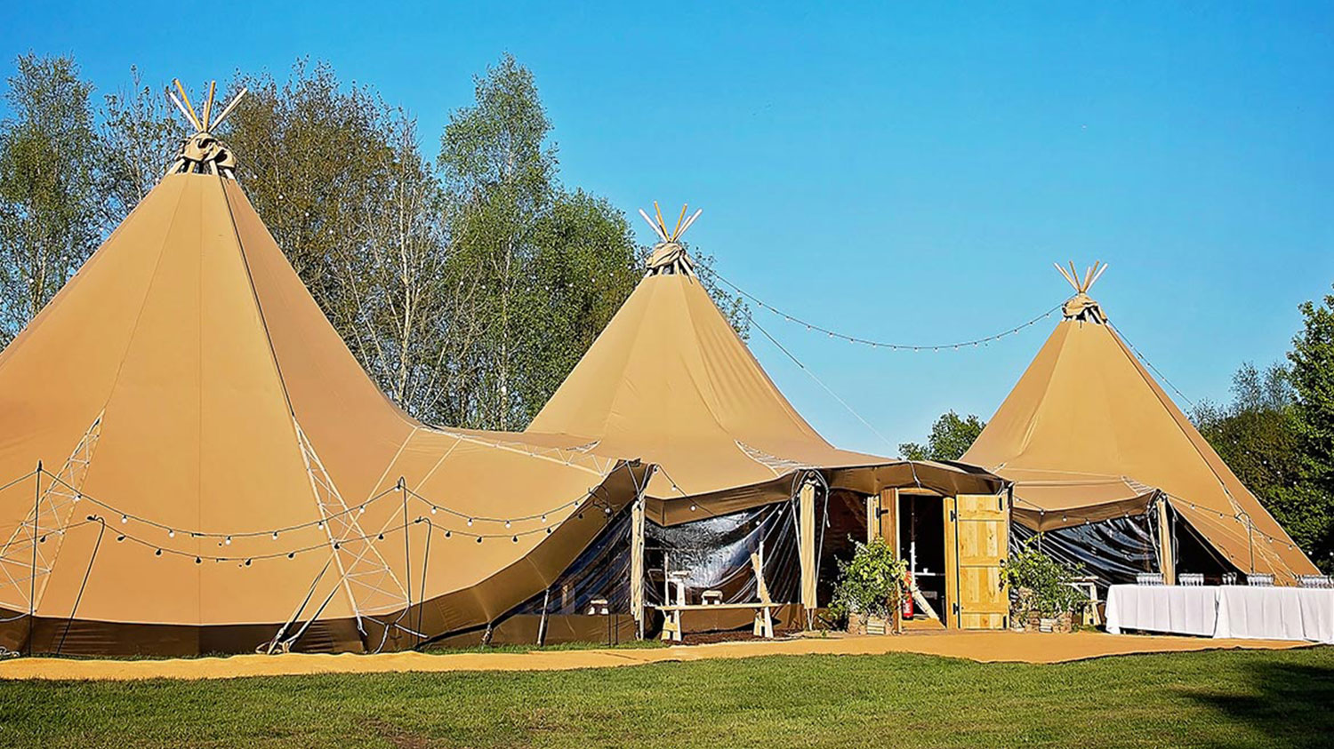 The Woodlands Tipi at Blacknest, Nr Farnham