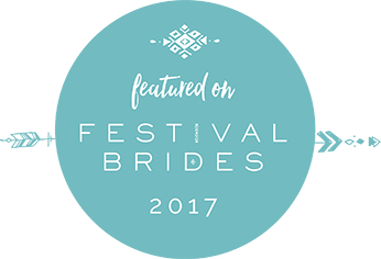Featured on Festival Brides 2017